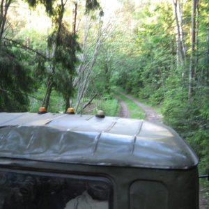 Нас подобрал грузовик, присланный с военной базы