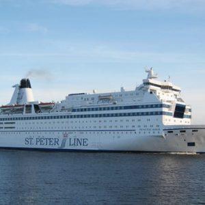 """Паром """"Принцесса Мария"""" отечественной компании """"St.Peter Line"""" совершает рейс в Финляндию"""
