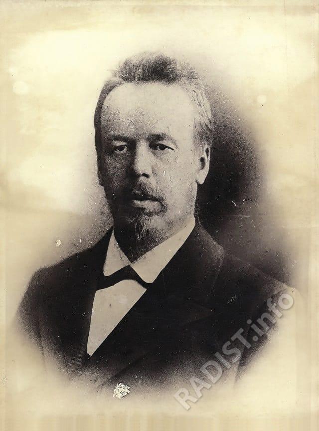 А.С. Попов 1886 г.