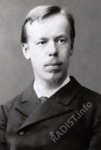 А.С. Попов в год окончания университета, 1883 г