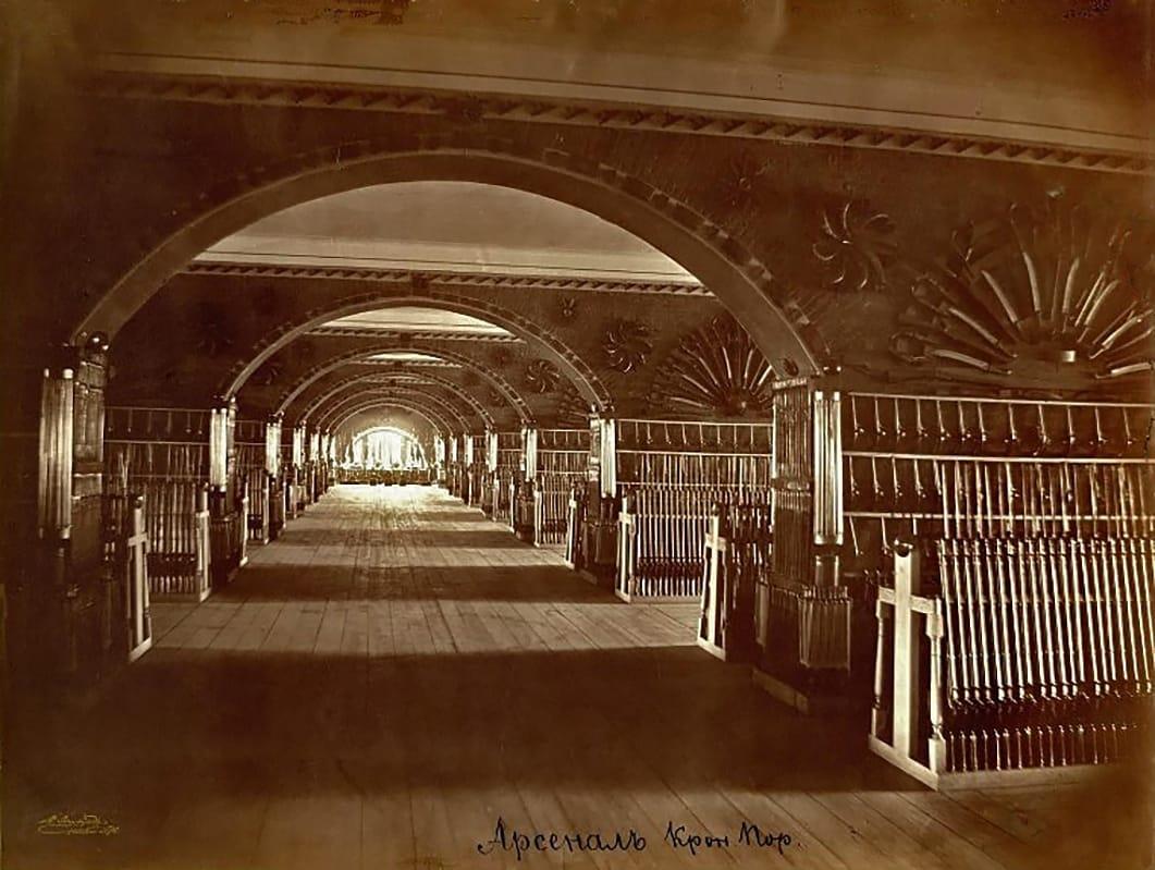Арсенал Кронштадтского порта, Кронштадт 1890-е гг