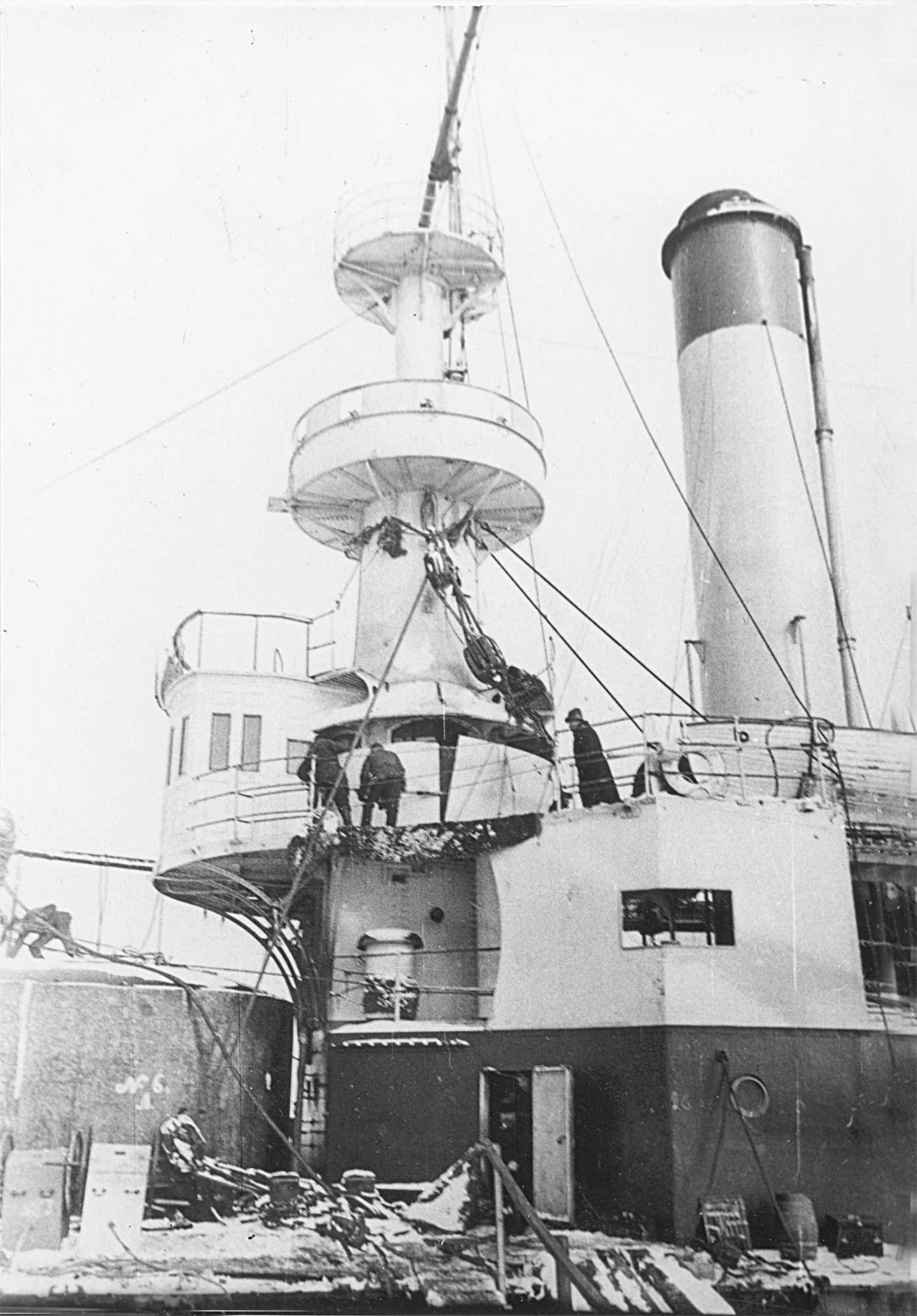 Броненосец береговой обороны «Генерал-адмирал Апраксин»