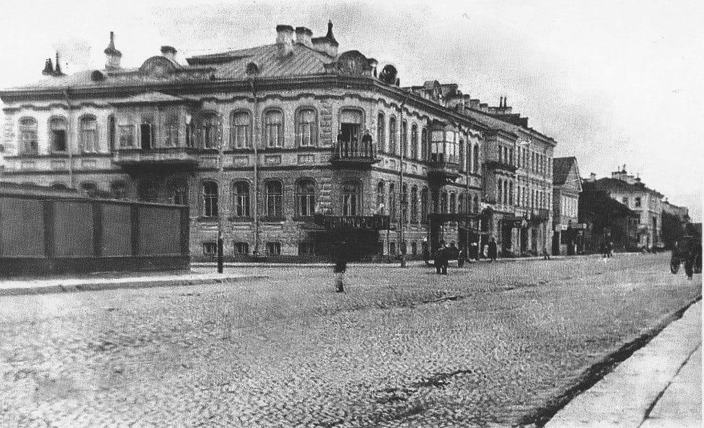 Дом на Посадской, 38, Кронштадт начало XX века