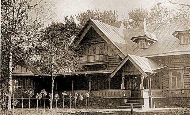 Летнее помещение Кронштадтского Морского собрания 1904 г