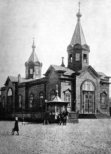 Морская Богоявленская церковь, Кронштадт