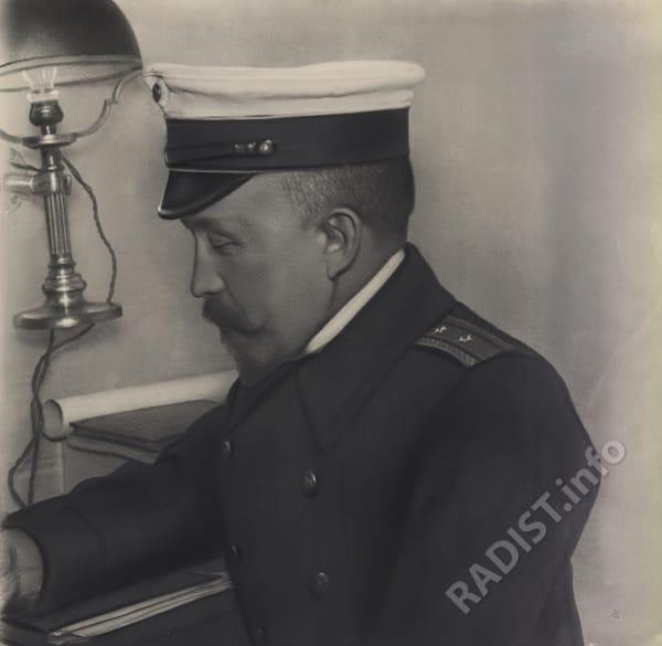 П.Н. Рыбкин в морской форме, 1907 г.