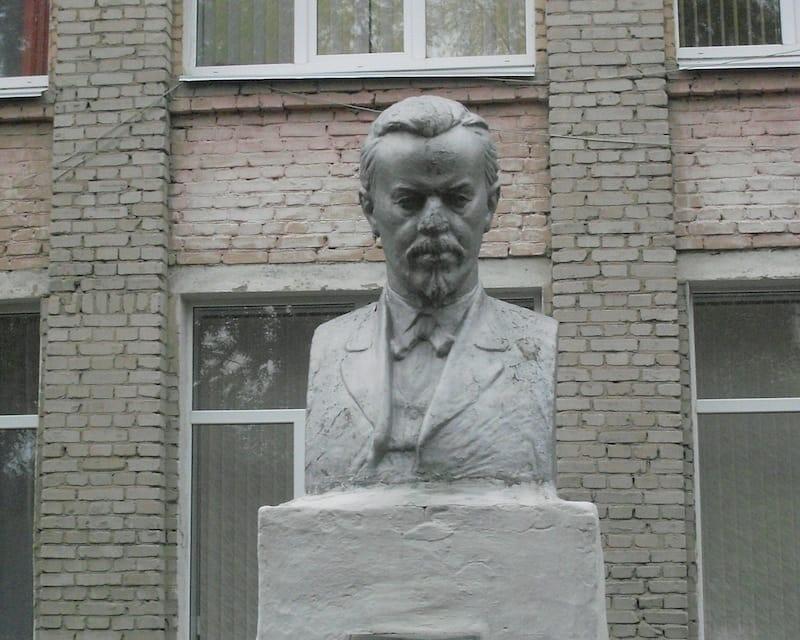 Памятник А.С. Попову в Курганской области