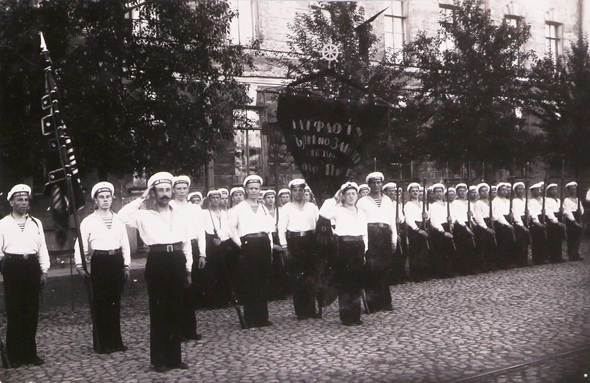 Парад в Кронштадте 1920 г