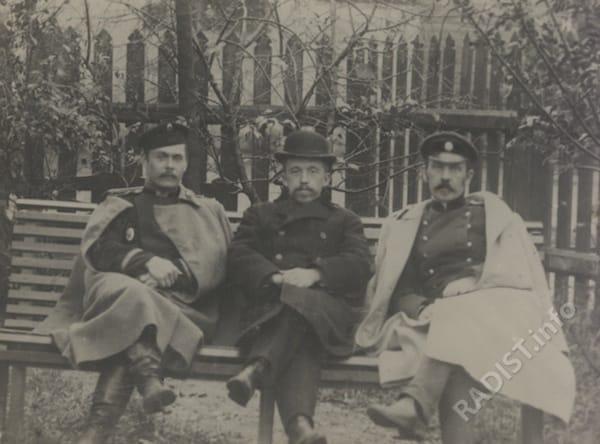 Петр Николаевич Рыбкин и Дмитрий Семенович Троицкий