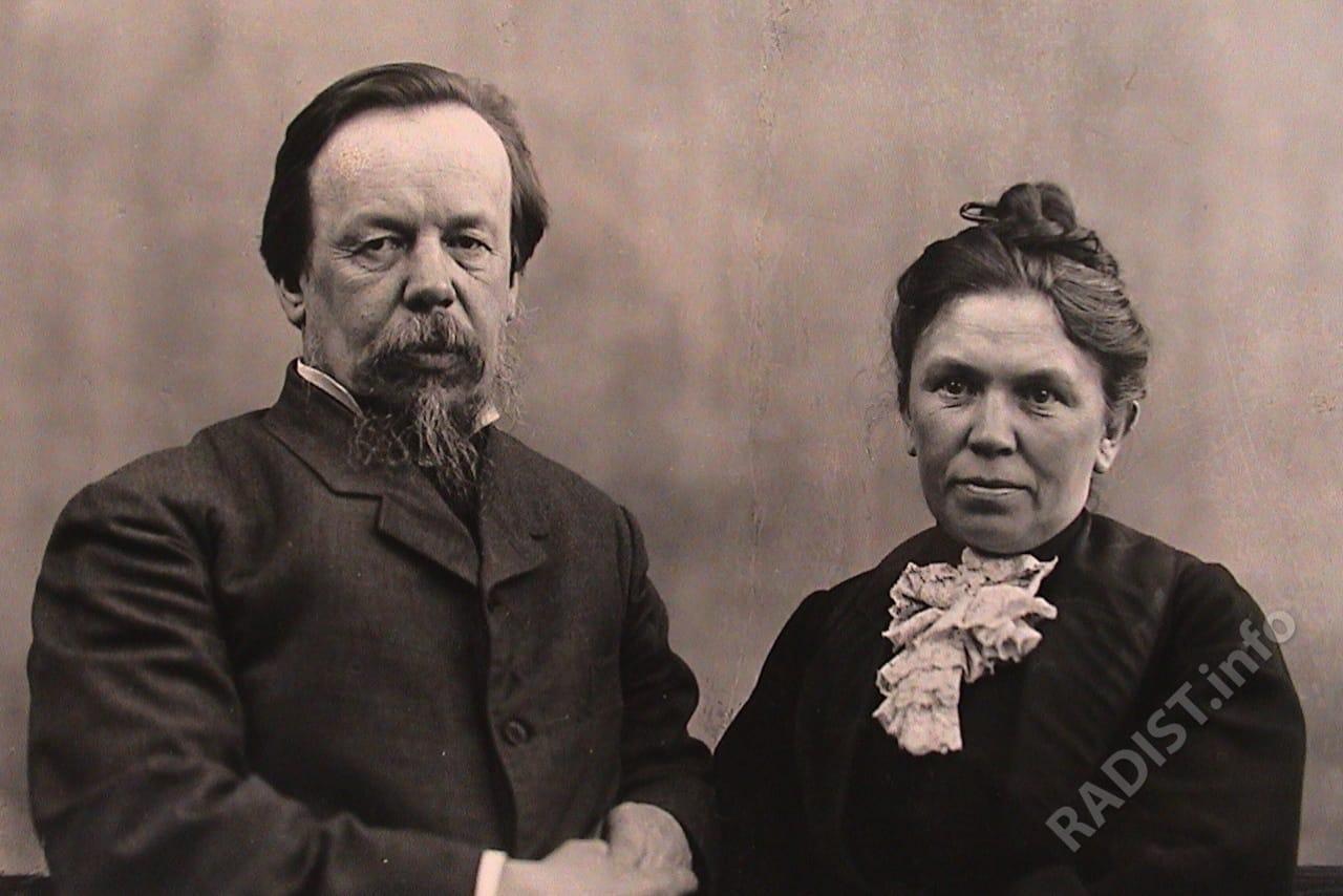 Раиса Алексеевна и Александр Степанович Поповы, 1905 г.
