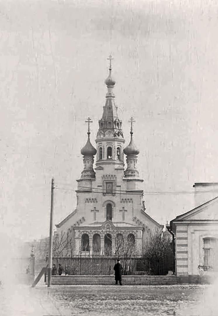 Собор во имя Владимирской иконы Божией Матери, Кронштадт конец XIX века