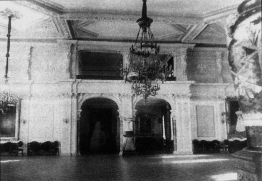 Танцевальный зал Кронштадтского Морского собрания