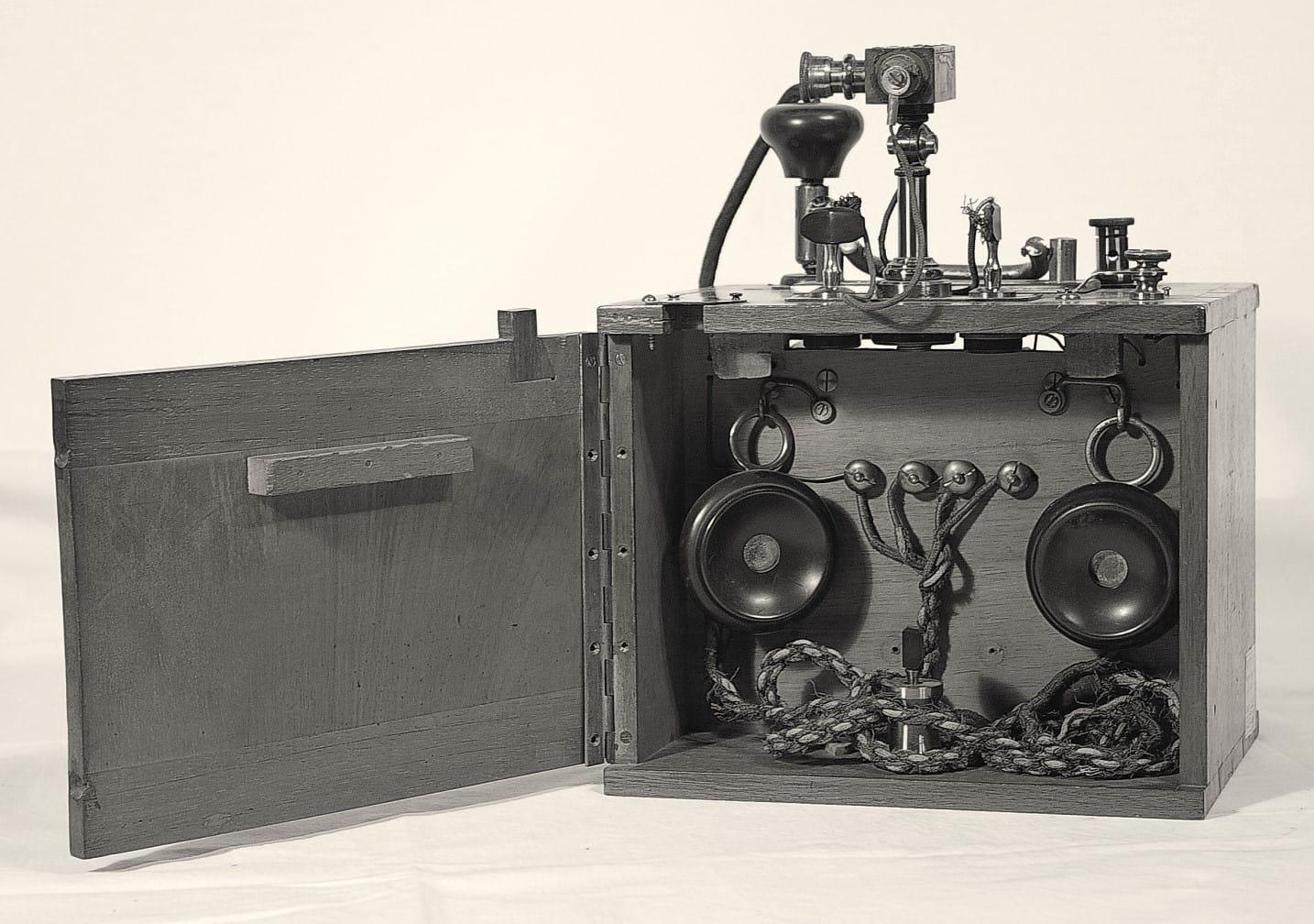 Телефонный приемник депеш 1899 г