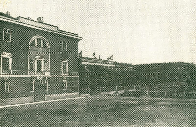 Здание Кронштадтского морского госпиталя в первой половине XX века