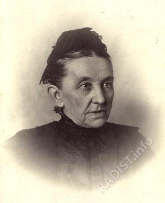 Мать П.Н. Рыбкина - Глафира Михайловна. Фото конца XIX в.