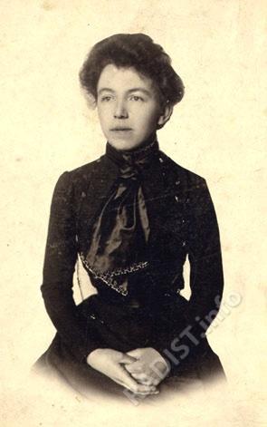 Сестра П.Н. Рыбкина - Мария. Фото конца XIX в.