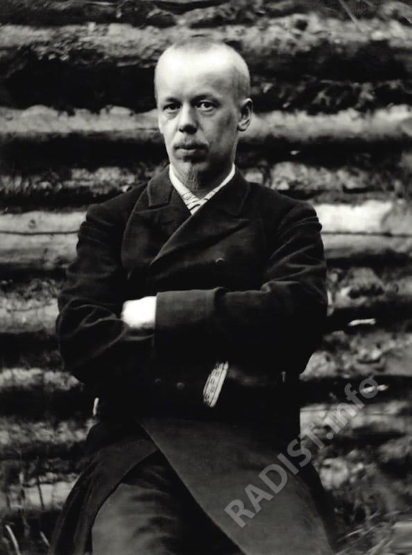 А.С. Попов во время Красноярской научной экспедиции, 1887 г.