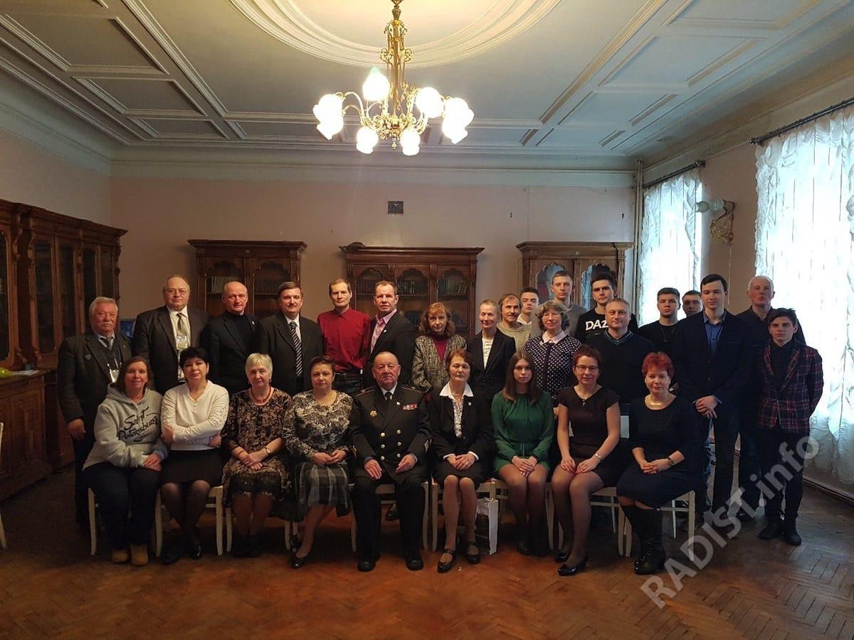 Юбилей А.С. Попова 16 марта 2019 в Итальянском дворце в Кронштадте