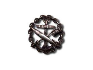 Знак «За окончание минного офицерского класса»