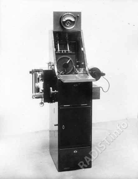 Телеграфный аппарат (Аэропланная радиостанция)