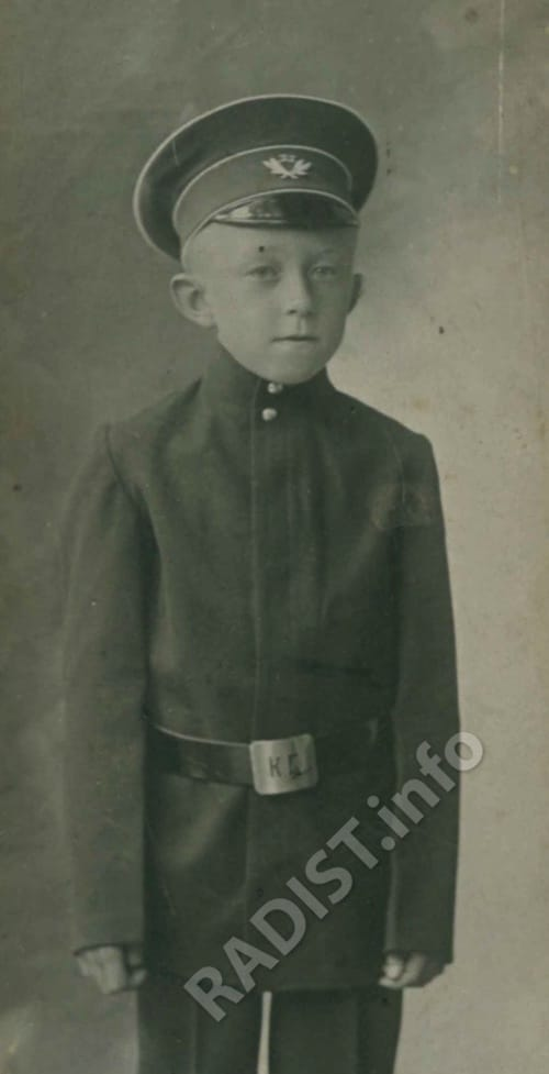 Сын П.Н. Рыбкина - Владимир