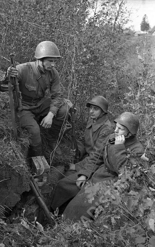 Фронтовые связисты, 1941 г.