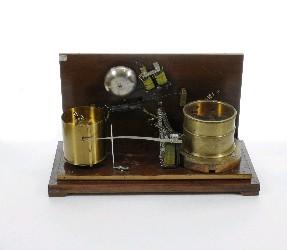 Грозоотметчик конструкции А.С. Попова, конец 19 века