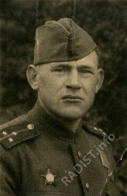 Лейтенант Ребров Василий Александрович, связист 5 Гвардейского (601) мотострелкового полка 3 Гвардейской (82) мотострелковой дивизии, 25 апреля 1945 г.