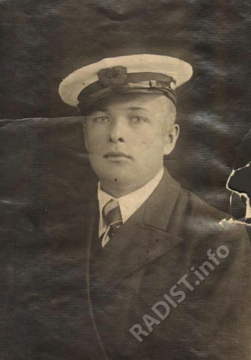 Микшин Василий Федорович, радист. Карельская республика, Петрозаводск г., 1939 г.