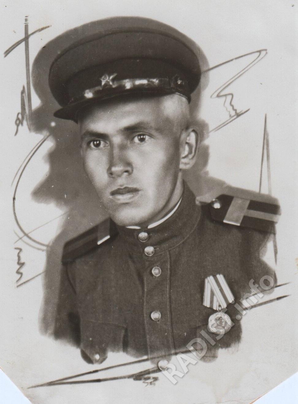 Пешков Борис Ильич, старшина, радист 1 класса, 1945 г.