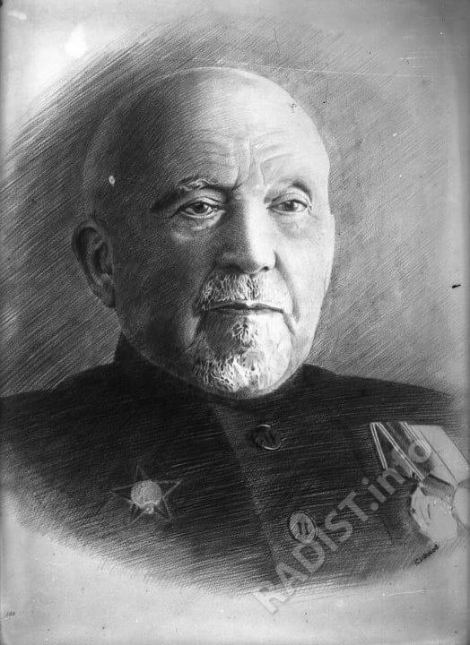 Портрет П.Н. Рыбкина, 1944 г.