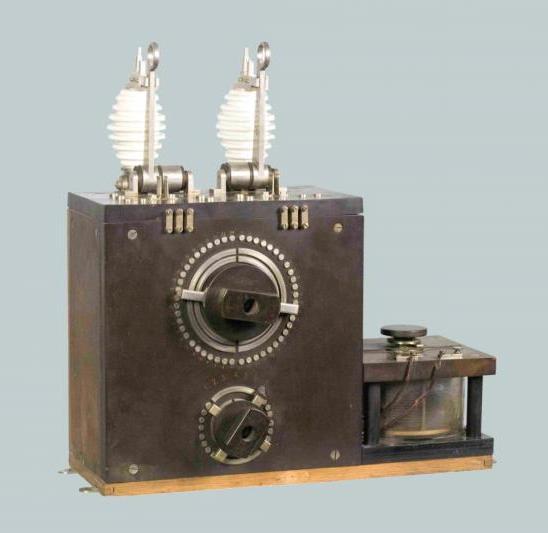 Радиоприемник детекторный, 1912-1914 гг.