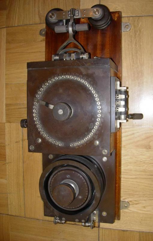 Радиоприемник детекторный, РОБТиТ, 1912-1913 гг.