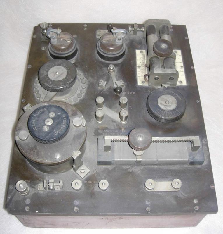 Радиоприемник детекторный, Великобритания, г. Лондон, 1908 - 1915 гг.