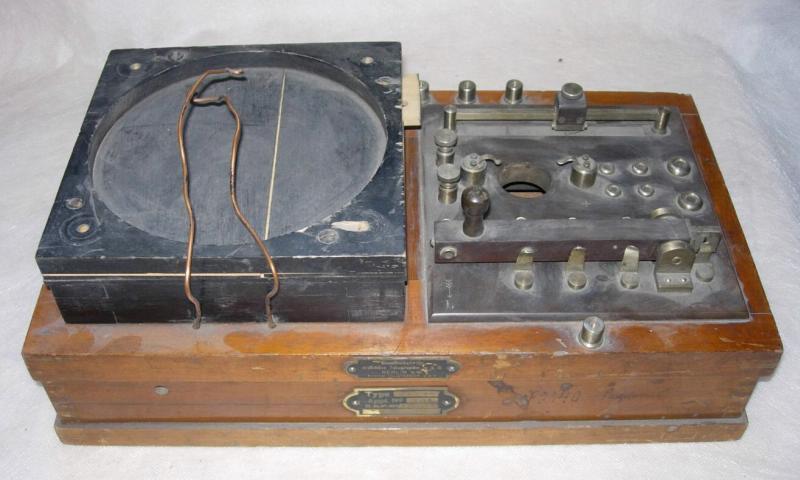Радиоприемник детекторный, типа «E2HZM», Германия, г. Берлин, 1907-1910 гг.