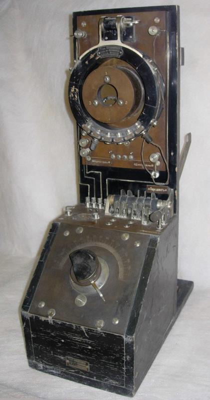 Радиоприемник детекторный, типа «G.A.H.», Германия, г. Берлин, 1908 -1910 гг.