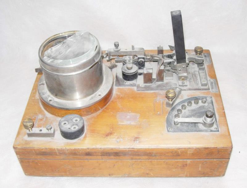 Радиоприемник когерерный, системы Телефункен, 1903-1904 гг.