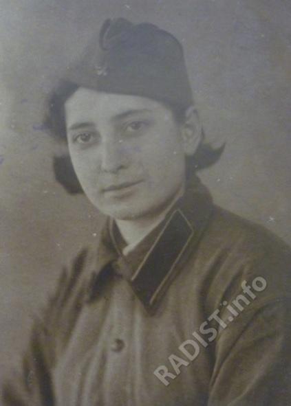 Радиотелеграфистка Тимонина Надежда Федоровна. Тбилиси, 1941 г.