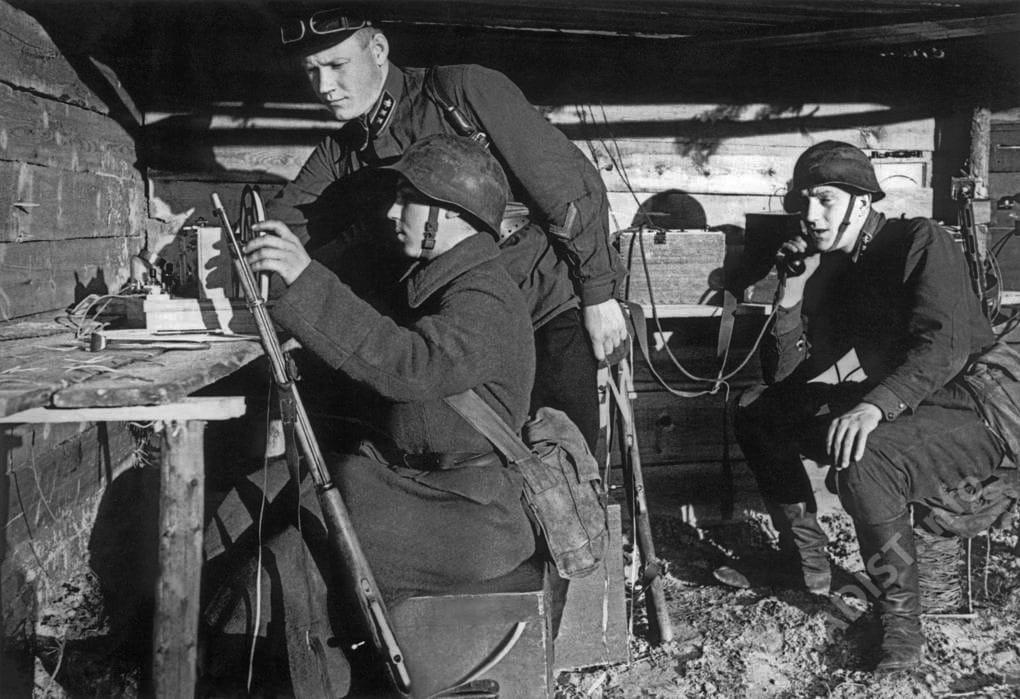 Рота связи, 1941 г.