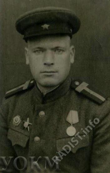 Свищев Иван Михайлович, старшина 215 отдельного батальона связи, радист, 1945 г.