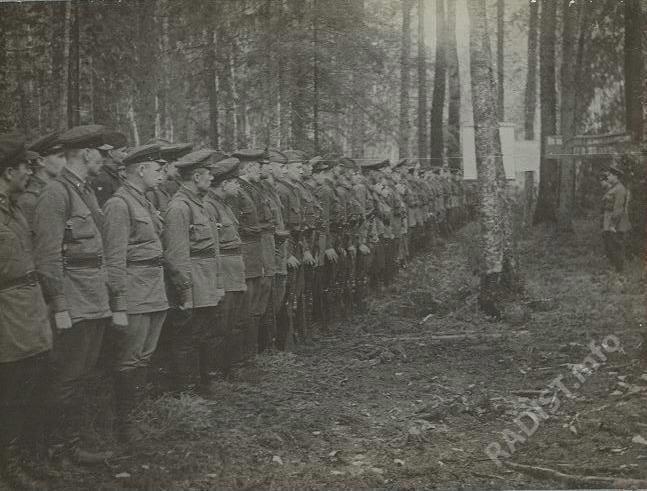 Связисты 89 полка 54 Армии, 06.08.1942 г.