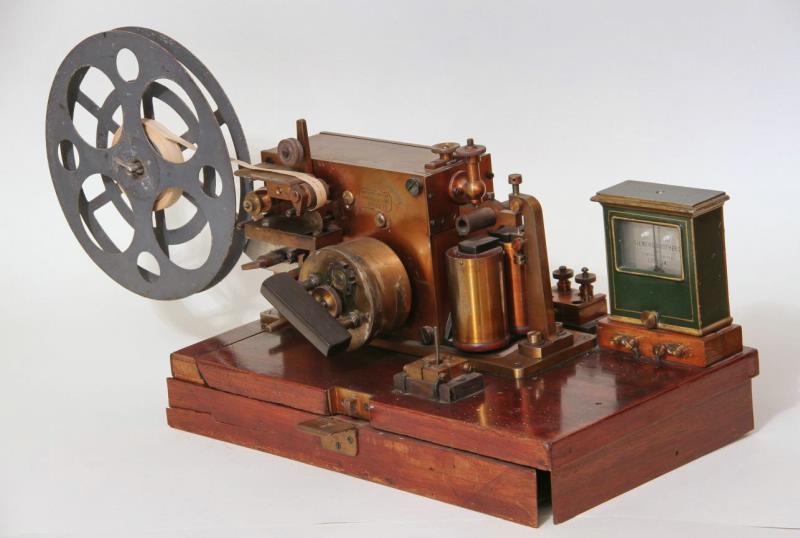 Телеграфный аппарат № 62672 фирмы «Сименс и Гальске», конец-начало XIX-XX в.