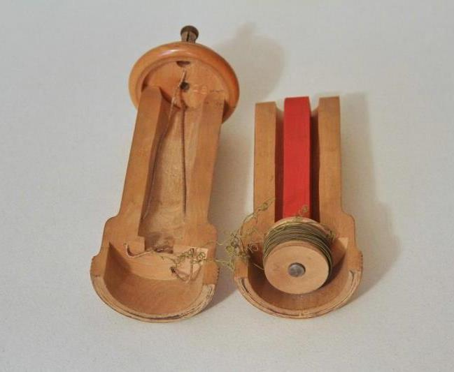 Трубка телефона учебная. МОК, Кронштадт, конец XIX в.