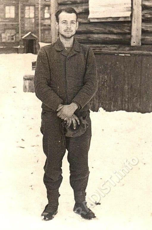 Якоб Мерциниш, радист-летчик 1941-1949 гг.