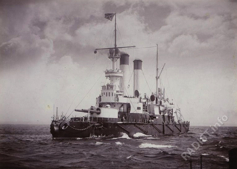 Броненосец береговой обороны «Генерал-Адмирал Апраксин», 1896