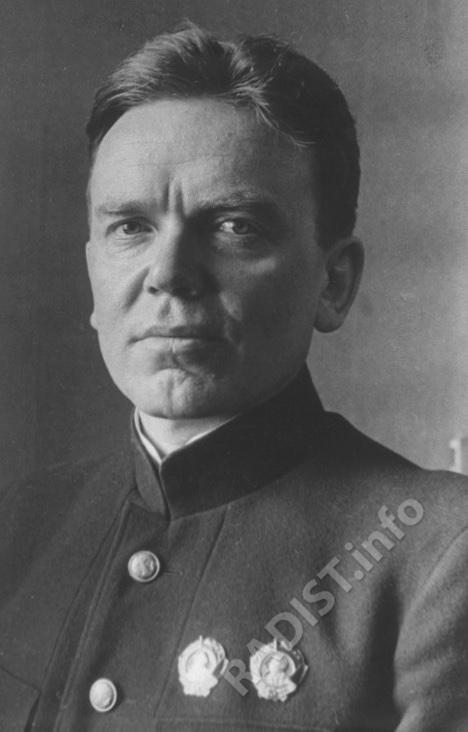 Кренкель Эрнст Теодорович, радист, Герой Арктики, 1937 г.