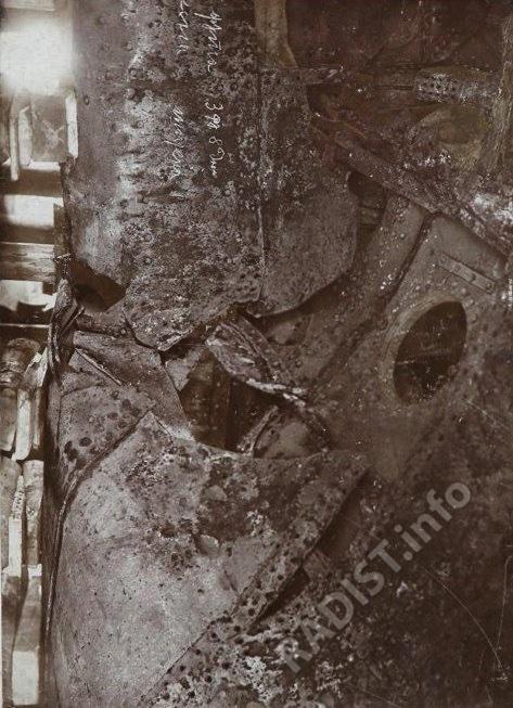 Повреждения броненосца «Генерал-Адмирал Апраксин» в 1899 г.