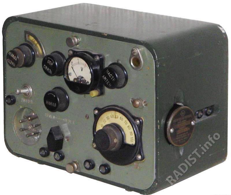 Переносная коротковолновая радиостанция «Север», использовалась радистами в 1941-1945 г.г.