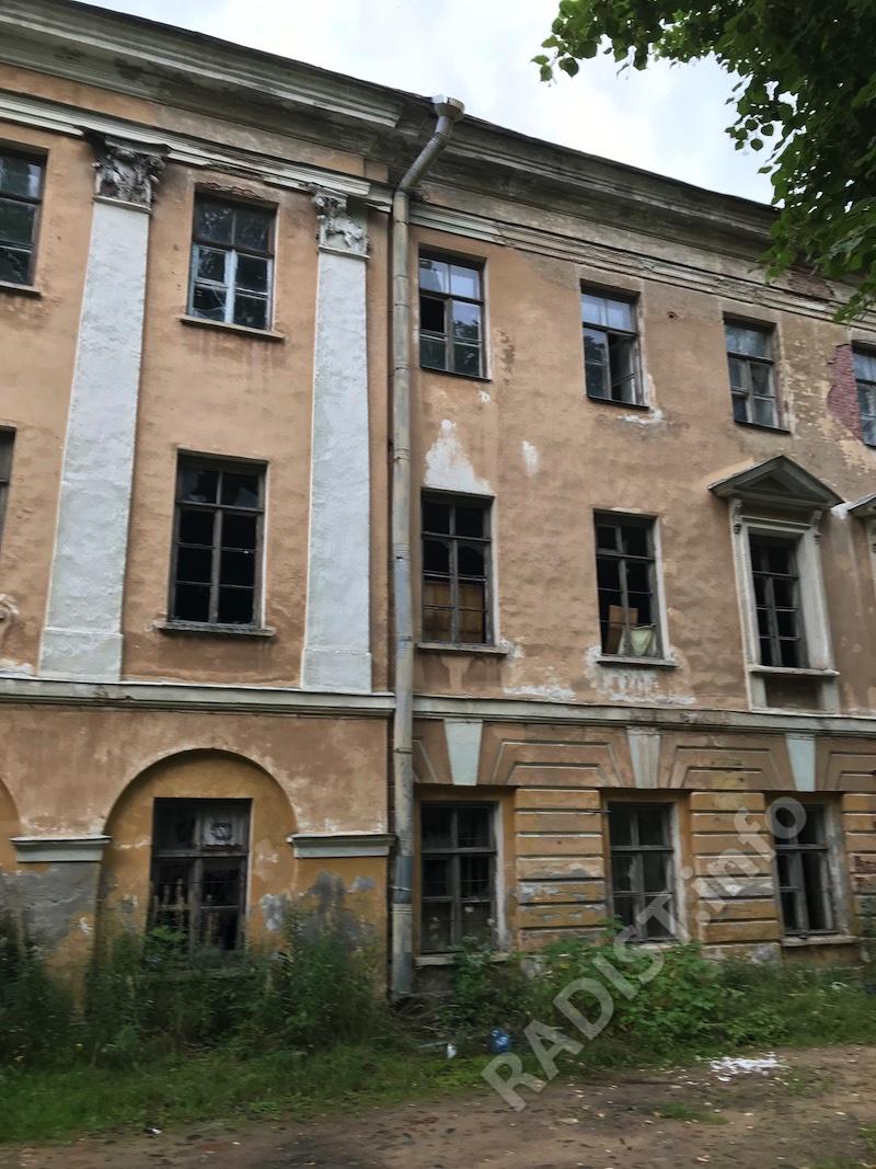 Здание бывшего Минного офицерского класса, мемориальный музей-кабинет А.С. Попова. Кронштадт, 7 сентября 2020 года