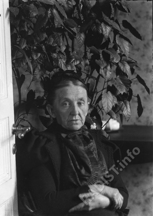 Мать П.Н. Рыбкина - Глафира Михайловна. Фото конца XIX в